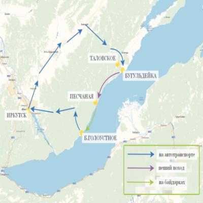 Карта Байкал Challenge
