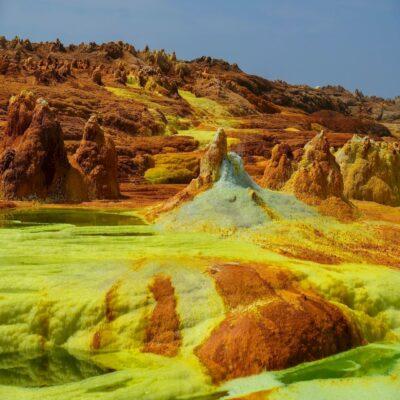 Краски пустыни Данакиль Афарская котловина Эфиопия