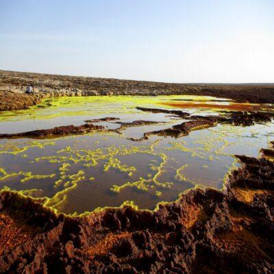 Соляное озеро Ассаль 1 пустыня Данакиль Эфиопия
