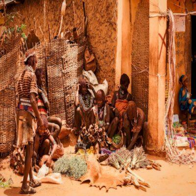 Хамерские травницы Джинка Эфиопия