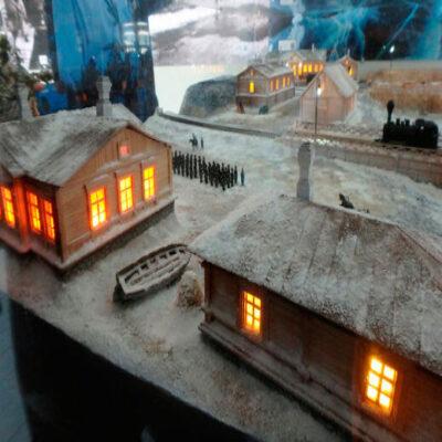 Деревенька в миниатюре Визит центр «Байкал заповедный»