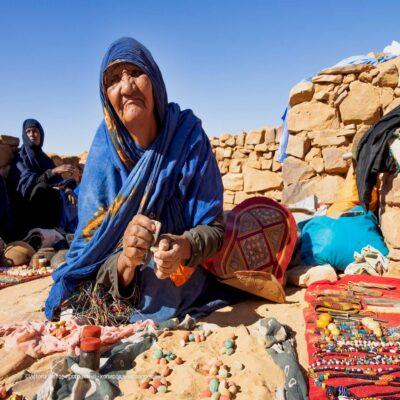 Бедуинская бабушка Мавритания