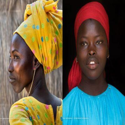 Девушки Сенегал