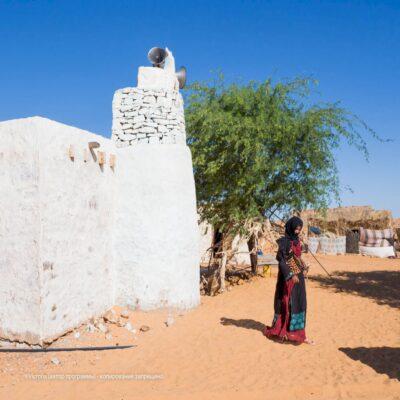 Деревенская мечеть Мавритания