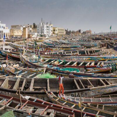Лодки в Сен-Луи Сенегал