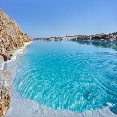 Соляное озеро в оазисе Сива Египет