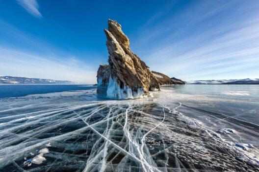 Снежные сказки великого Байкала