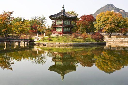 Золотая осень в Южной Корее