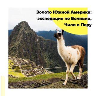 В апреле 2020 года Чиптрип-экспедиция снова отправится вслед за Солнцем – на поиски золота Южной Америки! Речь не идет о вожделенном драгоценном металле — мы будем охотиться лишь на яркие впечатления, культурные достопримечательности и фантастические природные красоты. Цель экспедиции – прикоснуться к великой истории Инков и побывать в красивейших и инопланетных местах Боливии, почувствовать свободу мысли Вальпараисо и пропустить через себя жизнь колоритных чилийских городков.  Во время путешествия мы исследуем старинные улочки Лимы, поднимемся на гору Уйану-Пикчу, откуда открывается один из самых впечатляющих видов на затерянный город Мачу-Пикчу, прогуляемся по столице Империи Инков – Куско – и побываем на самом высокогорном судоходном озере планеты – Титикаке.  Затем наша экспедиция отправится в Боливию, в тот самый Грааль Южной Америки, который открывается лишь немногим. Там мы посетим Лунную долину близ Ла-Паса и увидим соляную пустыню – озеро Уюни, которое в сезон дождей покрывается водой и становится самым большим зеркалом на планете.  Далее пересечем границу с Чили и отправимся в Сантьяго. Чили — это третья страна маршрута экспедиции, и она абсолютно отличается от всего того, что доведется увидеть на маршруте ранее. Здесь нас ждет портовый город Вальпараисо— город холмов, десятков тысяч ступеней и фуникулеров, город, наполненный в прямом смысле шедевральными произведениями стрит-арта и окруженный винодельнями, скалистыми берегами и мощными волнами Тихого океана.  Язык общения – русский.  Маршрут: Лима – Куско – Мачу-Пикчу – Куско – Пуно – Ла-Пас – ночной автобус (Ла-Пас – солончак Уюни) – солончаки Уюни – Сантьяго  Даты экспедиции: с 04.04 на 16 дней/15 ночей - 2195$  Подробности в direct или по почтеcheaptripexpedition@gmail.com