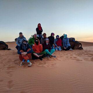 Desert with my best group ❤️ #morocco #кудаменяпослалчиптрип #cheaptripexpedition #zz_trip
